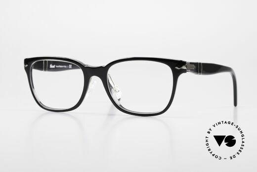 Persol 3003 Ladies Glasses Classic Black Details