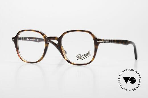 Persol 3142 Square Panto Eyeglasses Unisex Details