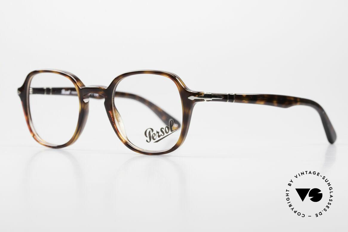 Persol 3142 Square Panto Eyeglasses Unisex, square Panto design & top-notch craftsmanship, Made for Men and Women