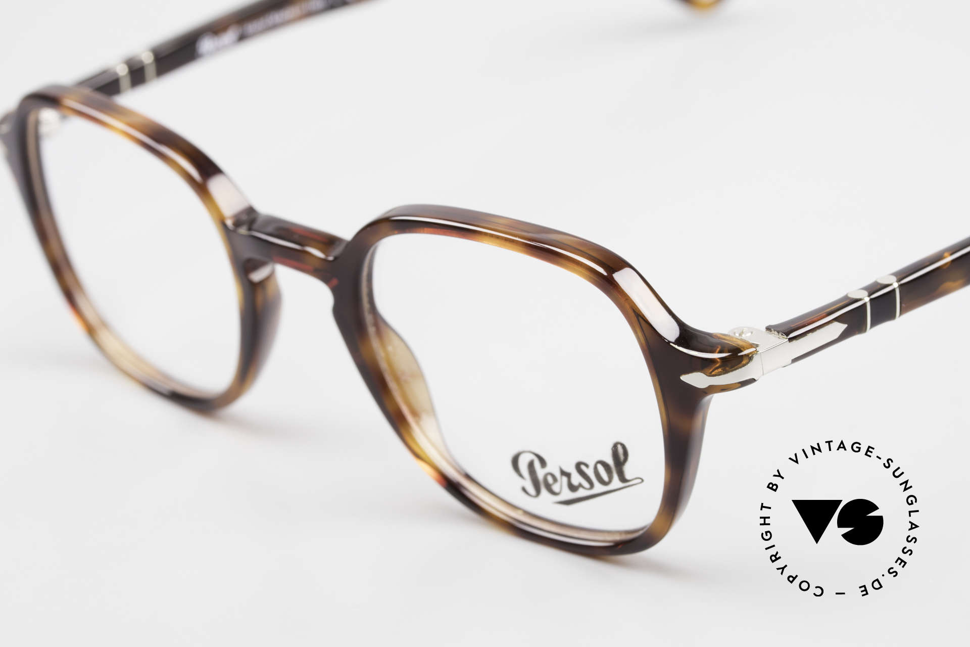 Persol 3142 Square Panto Eyeglasses Unisex, unworn (like all our classic PERSOL eyeglasses), Made for Men and Women
