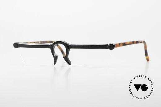 Design Maske Berlin Ethno 1 Artful 90s Vintage Eyeglasses Details