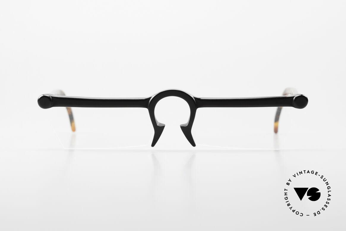 Design Maske Berlin Ethno 1 Artful 90s Vintage Eyeglasses, Design Maske Berlin: glasses like never seen before, Made for Men and Women