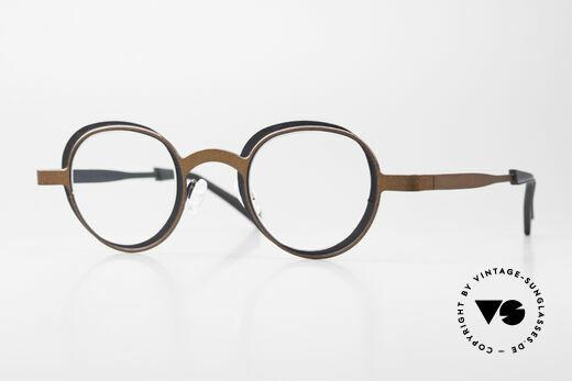 Theo Belgium Eye-Witness YD Designer Glasses Ladies & Gents Details