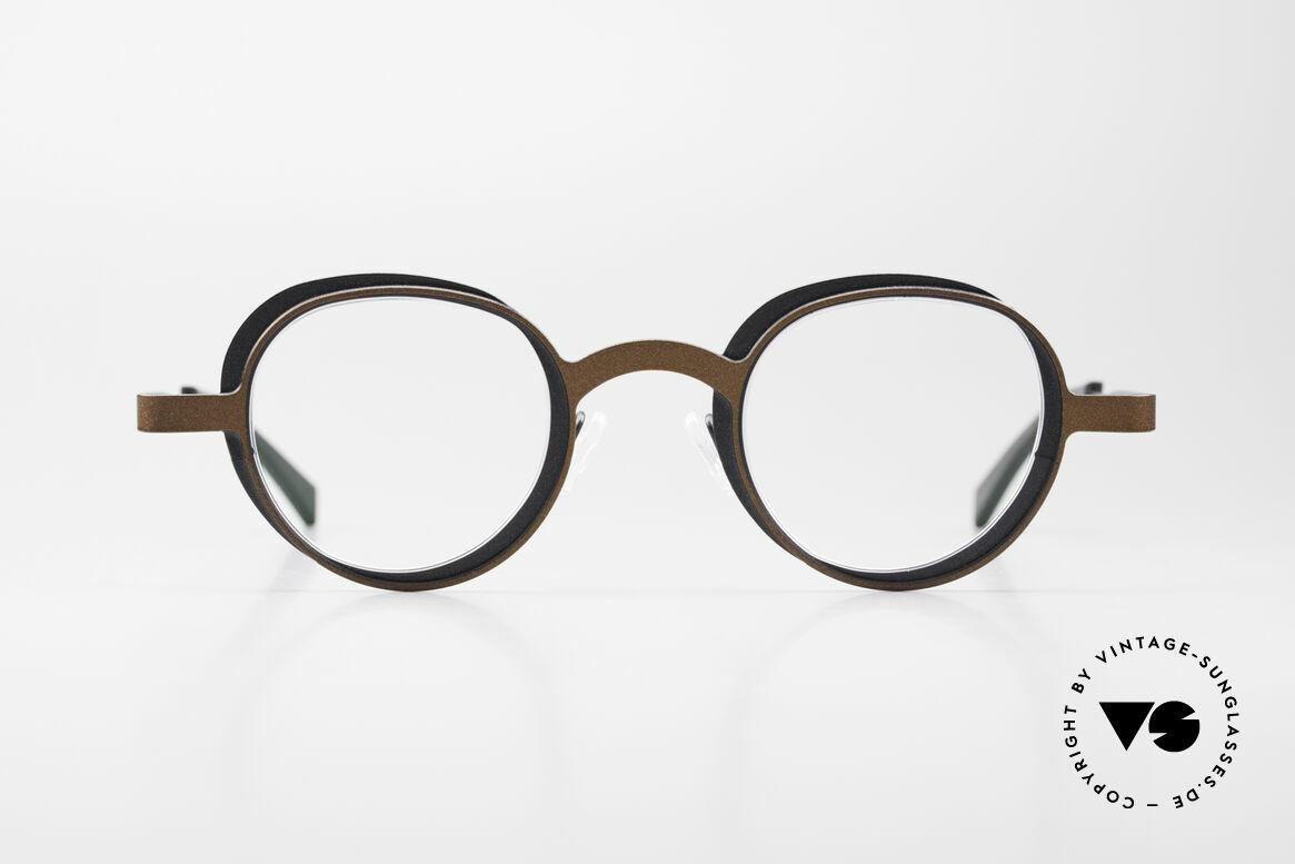Theo Belgium Eye-Witness YD Designer Glasses Ladies & Gents, fancy Theo Eye-Witness eyeglasses, model YD color 293, Made for Men and Women