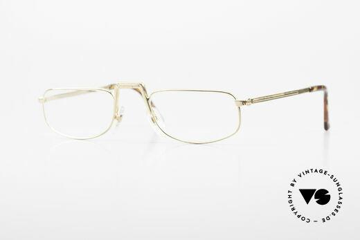 Christian Dior Saint German Gold Plated Folding Glasses Details
