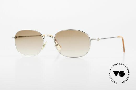 Cartier Vega Square Shades Luxury Platinum Details