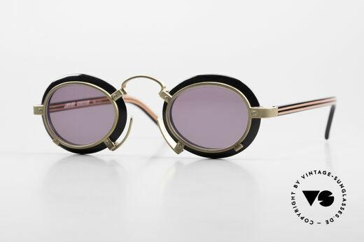 Jean Paul Gaultier 58-1273 Designer 90's Sunglasses JPG Details