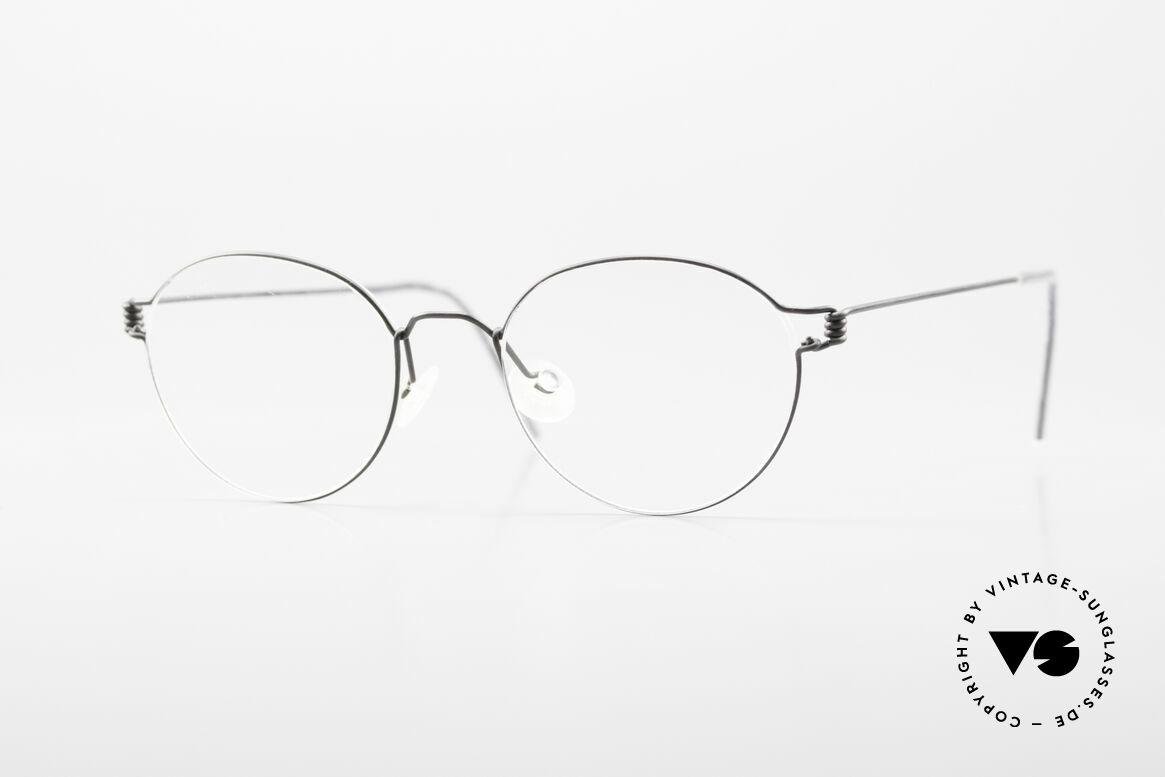 Lindberg Panto Air Titan Rim X Small Titanium Frame Panto, LINDBERG Air Titanium Rim eyeglasses, XS size 42-17, Made for Men and Women
