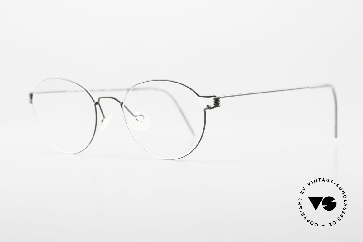 Lindberg Panto Air Titan Rim X Small Titanium Frame Panto, simply timeless, stylish & innovative: grade 'vintage', Made for Men and Women