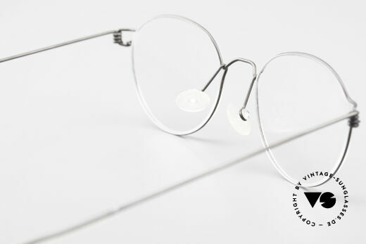 Lindberg Panto Air Titan Rim X Small Titanium Frame Panto, simple & strong frame: free from screws, rivets & welds, Made for Men and Women