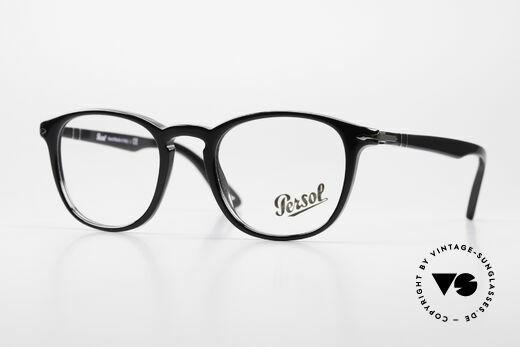 Persol 3143 Panto Designer Glasses Unisex Details