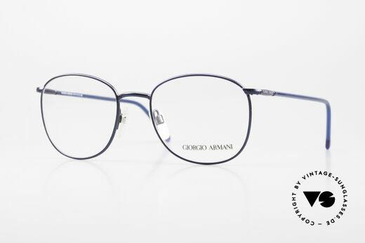 Giorgio Armani 1013 Old Square Panto Glasses 80's Details
