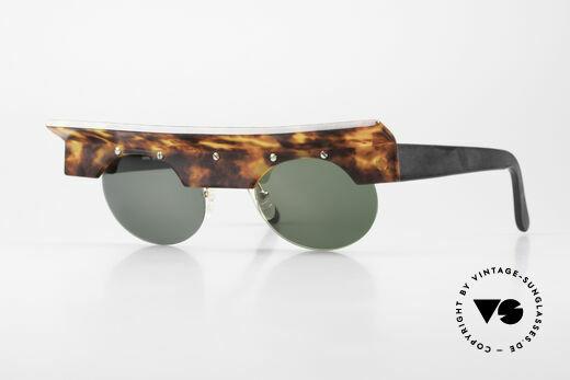 Design Maske Berlin Kappa Crazy Vintage Art Sunglasses Details