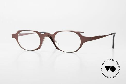 Theo Belgium Eye-Witness OB Ladies Eyeglasses Avant-Garde Details