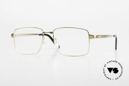 Cartier Core Range CT02030 Classic Men's Luxury Glasses Details