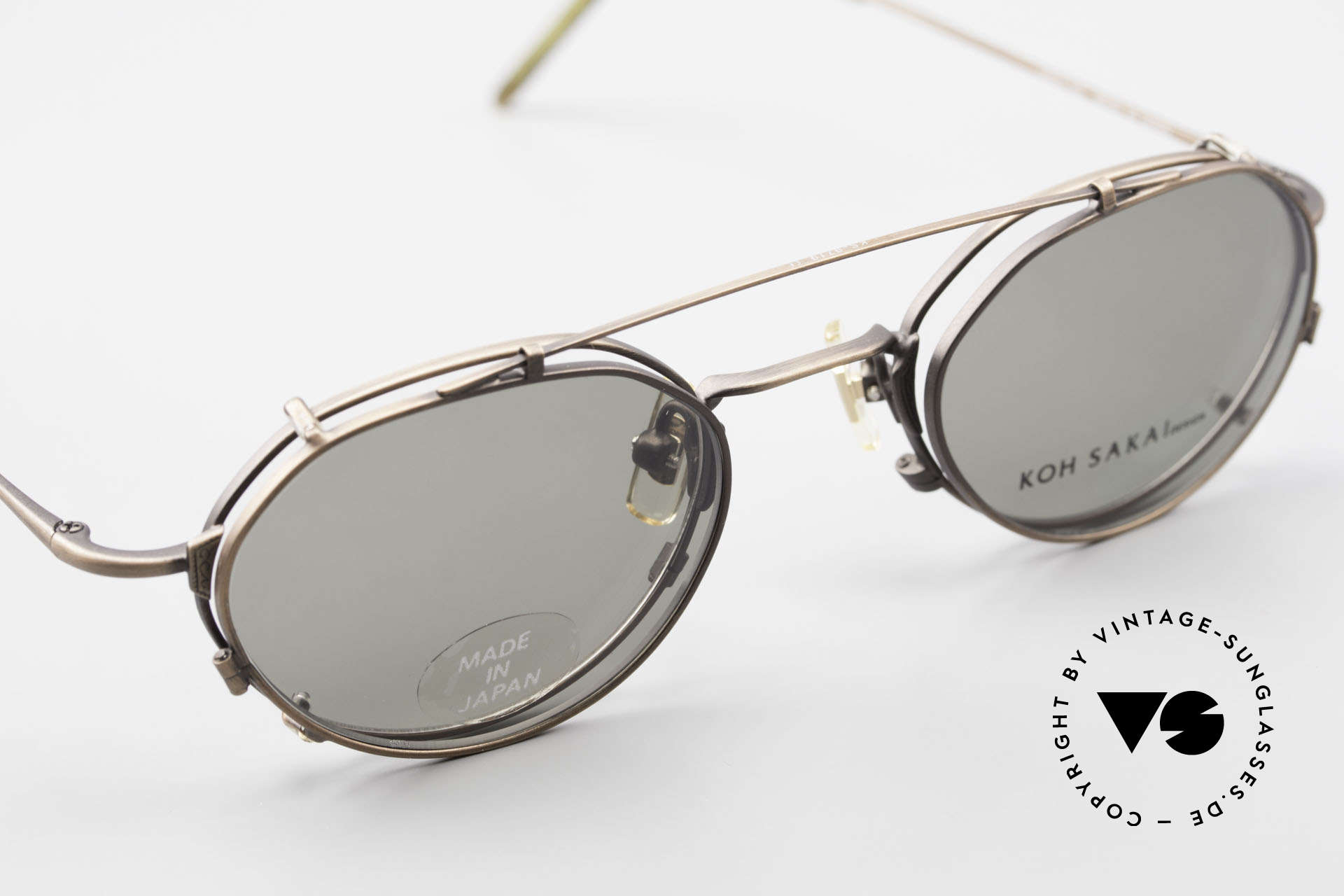 """Koh Sakai KS9719 Vintage Frame Ladies & Gents, very interesting alloying in a kind of """"antique bronze"""", Made for Men and Women"""