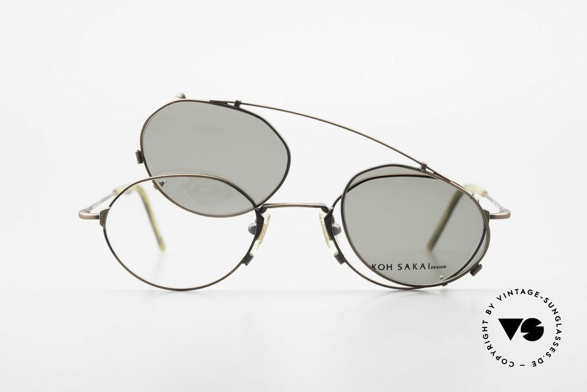 Koh Sakai KS9719 Vintage Frame Ladies & Gents, Size: small, Made for Men and Women