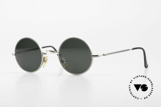 Giorgio Armani EA013 Small Round 90's Sunglasses Details
