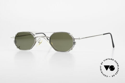 Christian Roth 2403 Optical Affairs Clip On Glasses Details