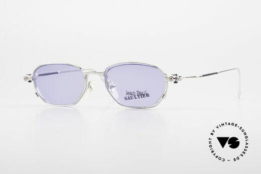 Jean Paul Gaultier 55-8107 Rare 90's Vintage Frame Clip On Details