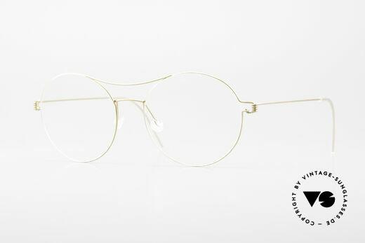 Lindberg Victoria Air Titan Rim Ladies Eyeglasses Oversized XL Details