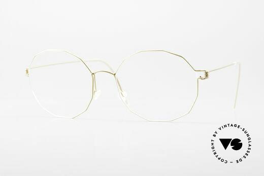 Lindberg Mila Air Titan Rim Ladies Glasses Angularly Round Details