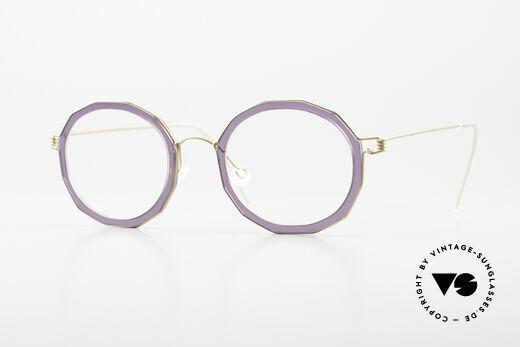 Lindberg Mette Air Titan Rim Designer Eyeglasses For Ladies Details