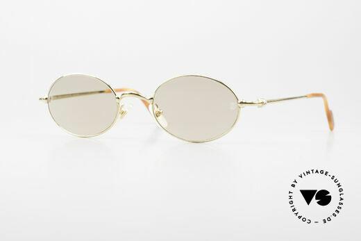 Cartier Filao Oval Luxury Sunglasses 90's Details