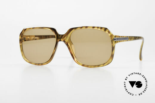 Dunhill 6001 Rare 80's Old School Sunglasses Details
