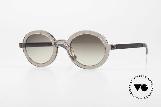 Lindberg 8570 Acetanium Round Oval Sunglasses Unisex Details