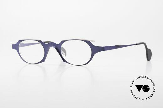 Theo Belgium Eye-Witness OB Ladies Glasses Avant-Garde Details
