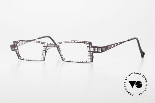 Theo Belgium Eye-Witness LH Women's Eyeglasses Vintage Details