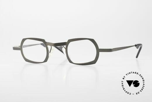 Theo Belgium Palm Beach Women & Men Titanium Glasses Details