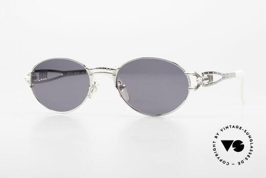 Jean Paul Gaultier 56-6101 Iconic Designer Frame Industrial Details