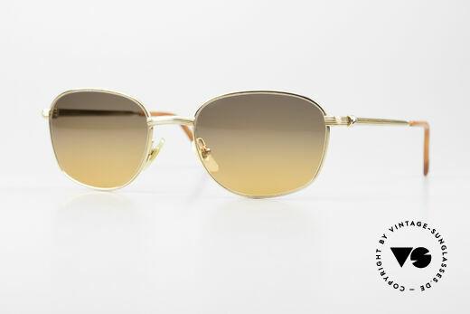 Cartier Segur Timeless Luxury Sunglasses 90's Details